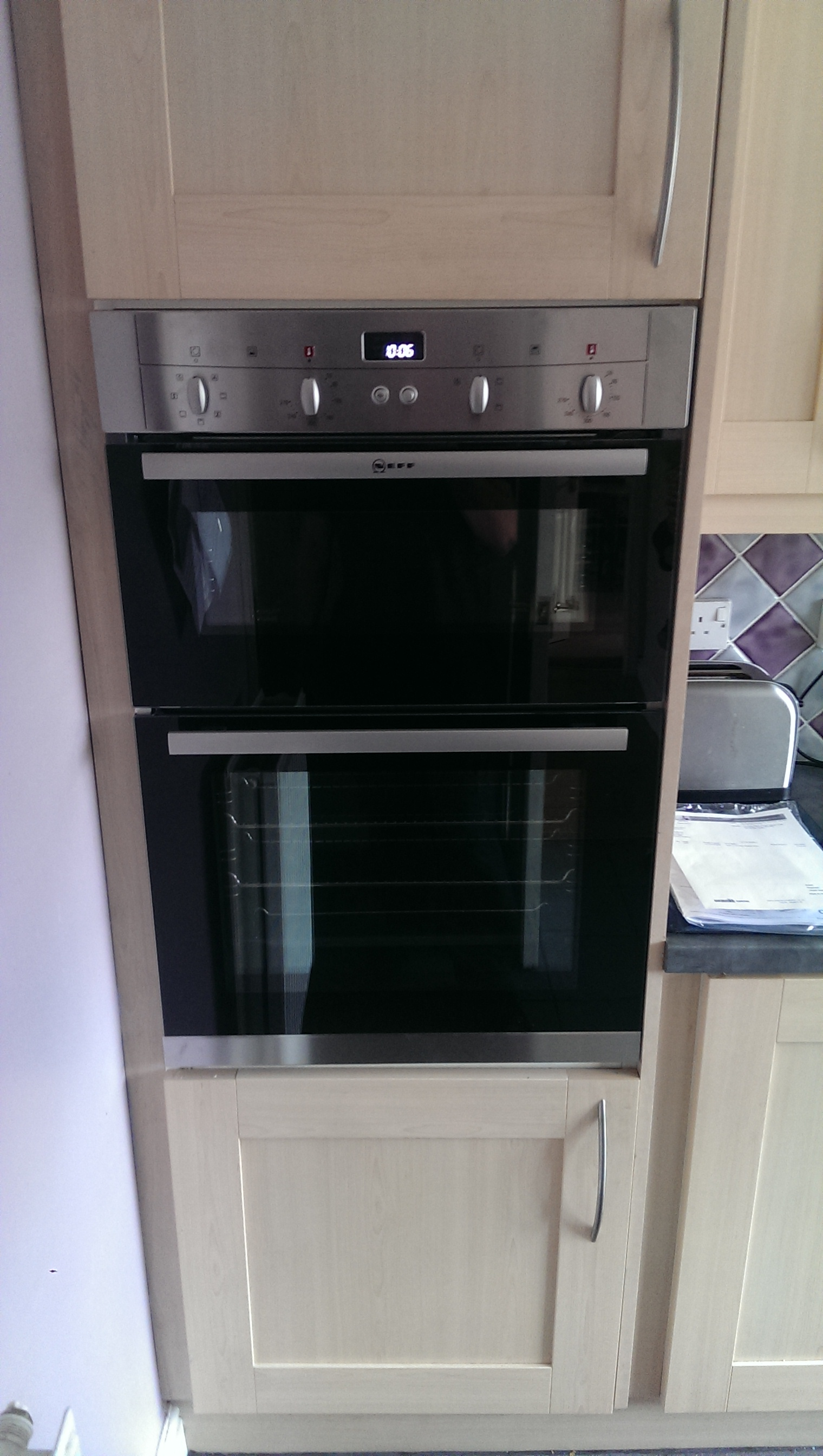 robinsons electric built in cooker installation july 2015
